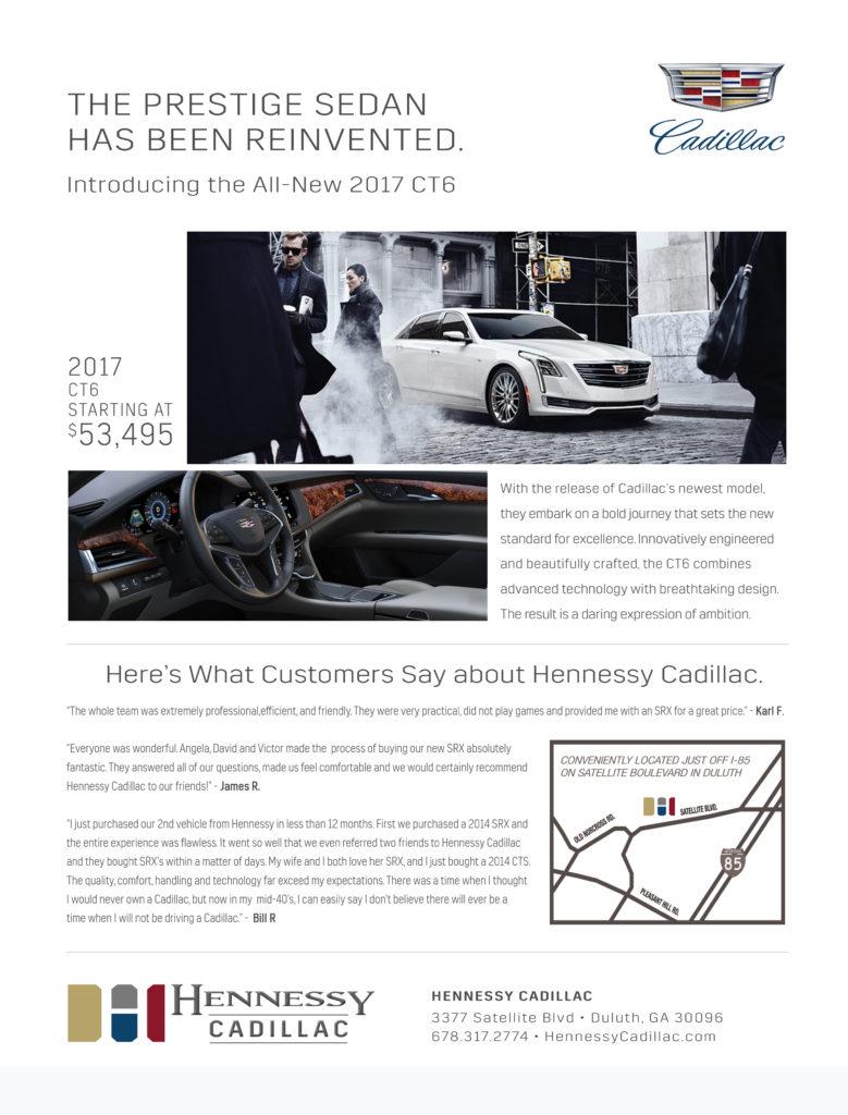 Cadillac Automotive Print Design -3 by ewingworks.com