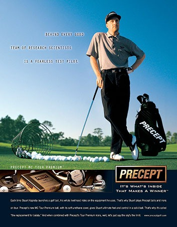 Appleby Precept GOlf Ad -1 by ewingworks.com