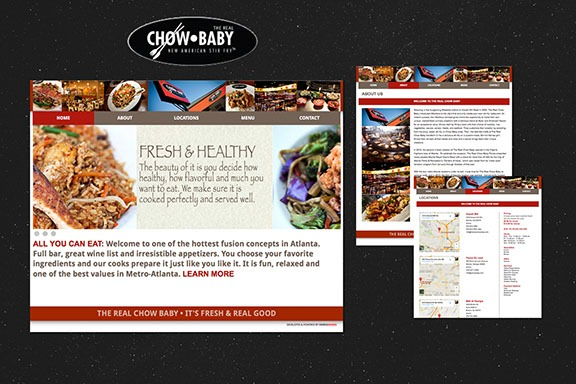 chow-baby marketing materials by ewingworks.com