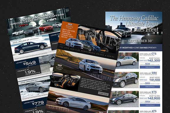 Automotive Marketing Email Designs