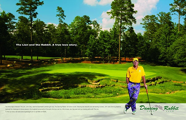 Dancing Rabbit John Daly Ad -1