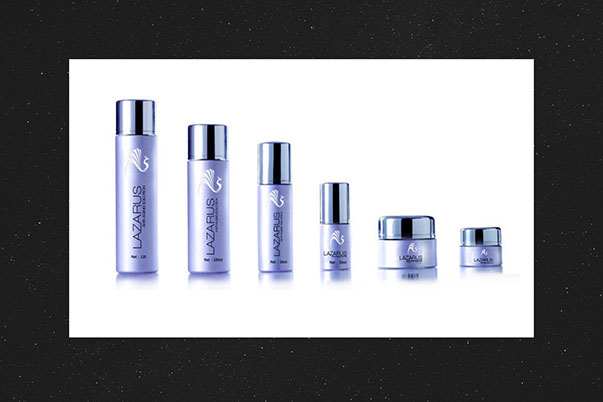 Lazarus Labs Beauty Skin Treatment Package Design -v2 by ewingworks.com
