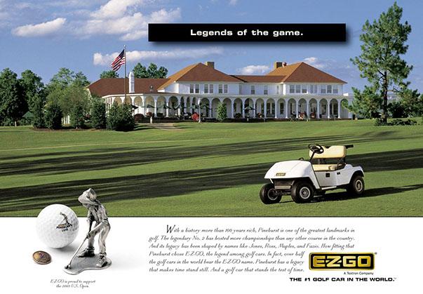 EzGo Gold Cart Ad 2 by ewingworks.com