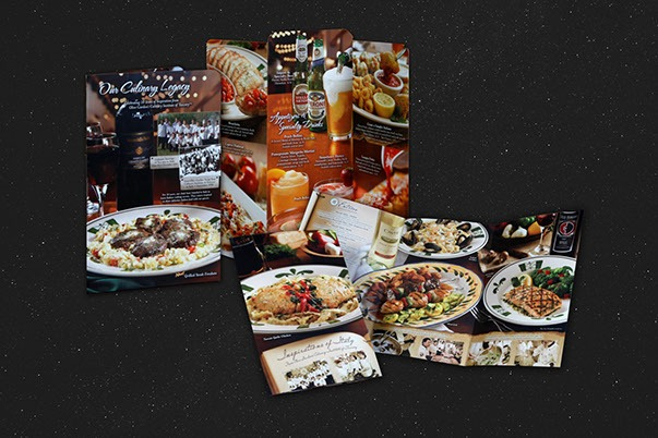Olive Garden Menus and Promotions-2 Print Design