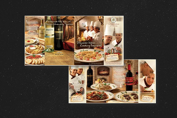 Olive Garden Menus and Promotions-4 by ewingworks.com Print Design