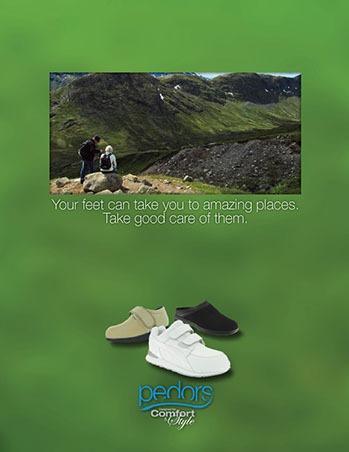 Pedors Print Design Footwear -2