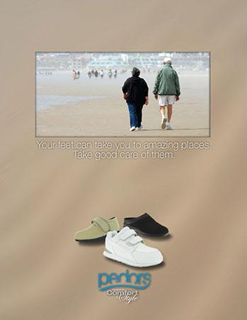 Pedors Print Design Footwear -3