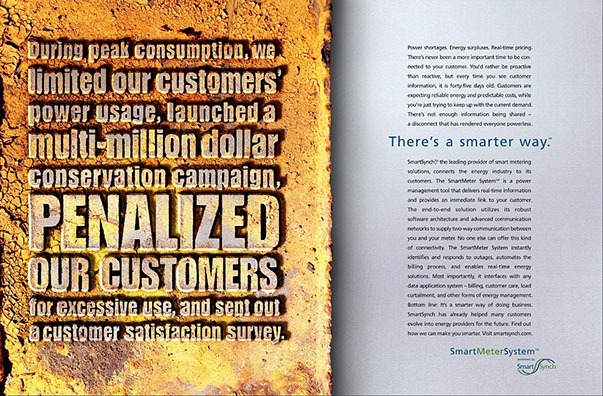 B2B Marketing Smart Meter ad 2 by ewingworks.com