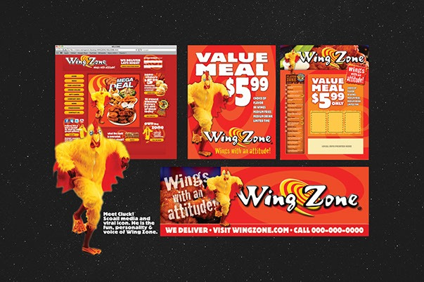 WingZone Promotion PRINT DESIGN