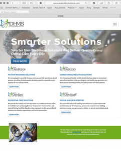 DHMS Website by Atlanta Website Design Companies, ewingworks.com