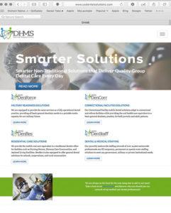 DHMS Website by Atlanta Website Design Companies, ewingworks.com