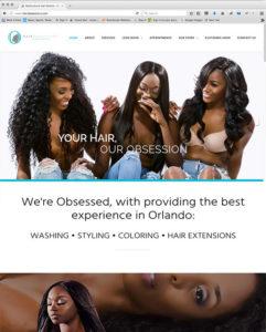 HAIROBSESSIONZ.COM-by Atlanta Website Design Companies, ewingworks.com