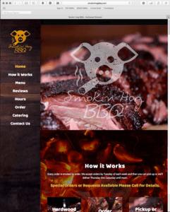 SmokinHog.com Website