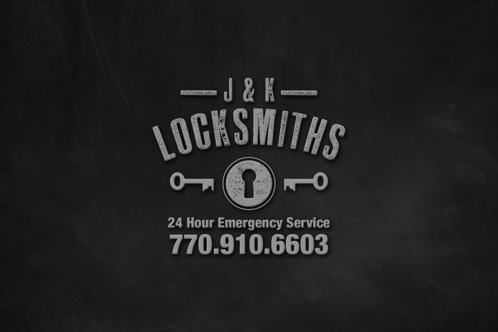 EwingWorks Logo Design-j&K locksmith logo