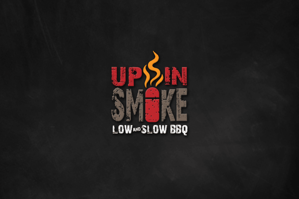 Up in Smoke Logo Design by ewingworks.com